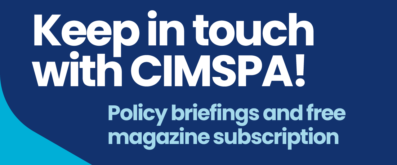 Keep in touch with CIMSPA